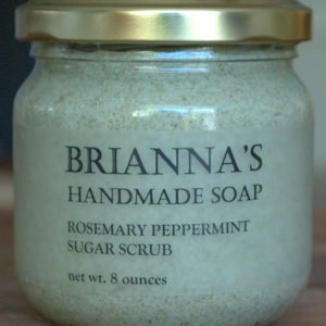 handmade soap sugar scrub vegan organic